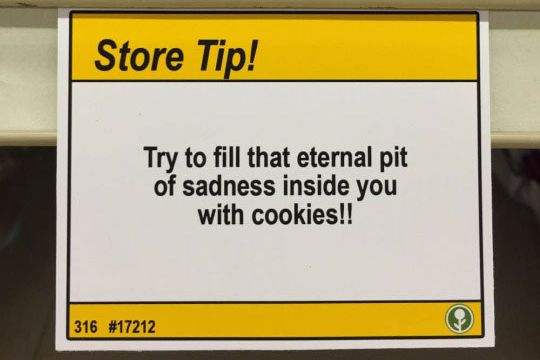 Because cookies are the only help anyone needs.