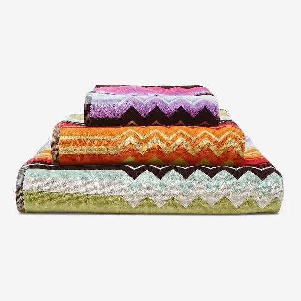 Missoni Home Giacomo Towels 16 Inches by 20 Inches