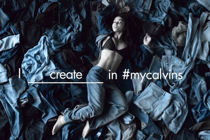 FKA Twigs in a new video she directed for Calvin Klein Jeans.