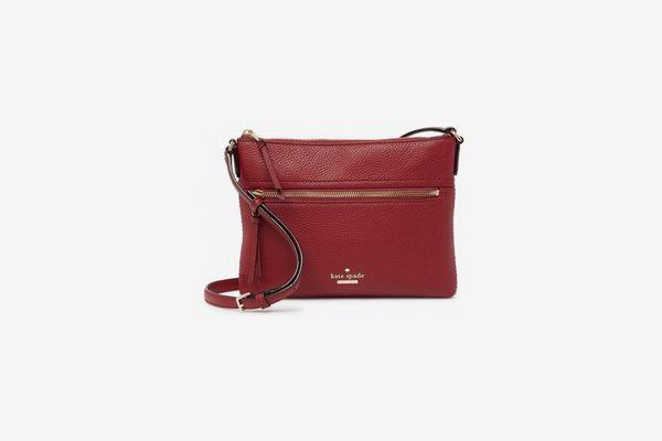 Kate Spade New York Jackson Street Gabriele Leather Crossbody Bag