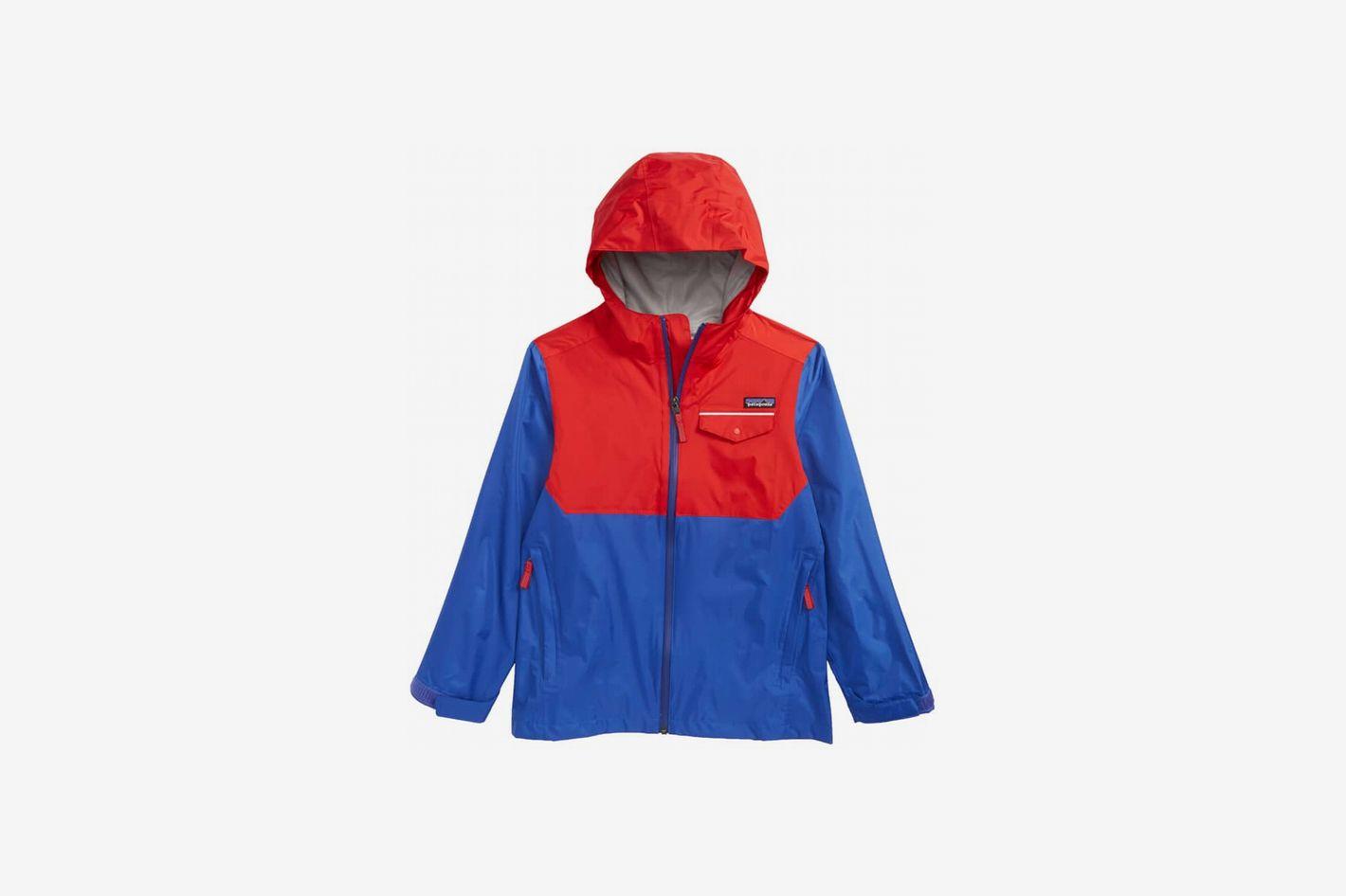 Patagonia Torrentshell Hooded Rain Jacket (Little Boys & Big Boys)