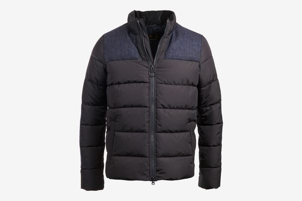 Barbour Mens Quilted Baffle Jacket