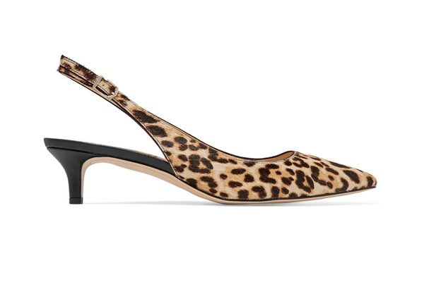 Sam Edelman Ludlow leopard-print calf hair pumps