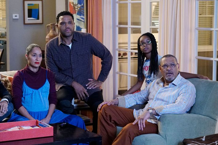 TRACEE ELLIS ROSS, ANTHONY ANDERSON, MARSAI MARTIN, LAURENCE FISHBURNE