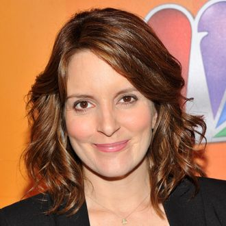 NEW YORK, NY - MAY 16: Actress Tina Fey attends the 2011 NBC Upfront at The Hilton Hotel on May 16, 2011 in New York City. (Photo by Stephen Lovekin/Getty Images)