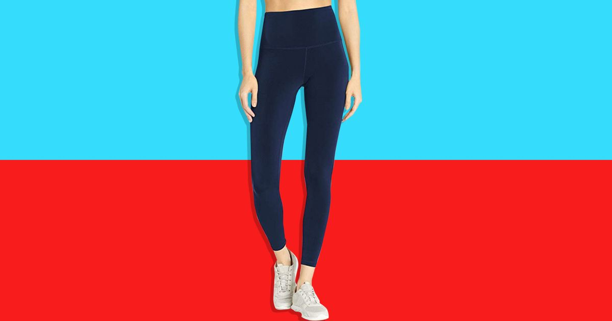 These High-Waisted Leggings Are Just 15 Bucks