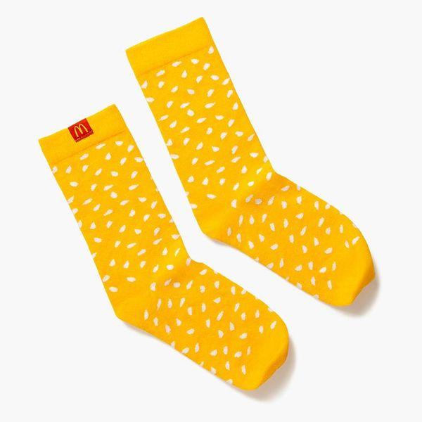 McDonald's Sesame Seed Socks