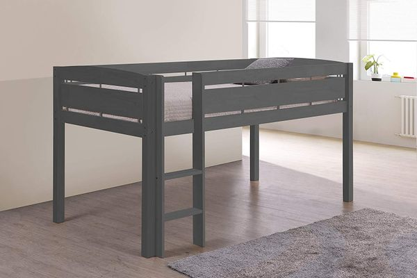Storkcraft Canwood Whistler Junior Bed-Gray Loft
