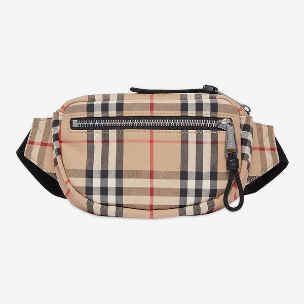 Burberry Mini Check Bum Bag