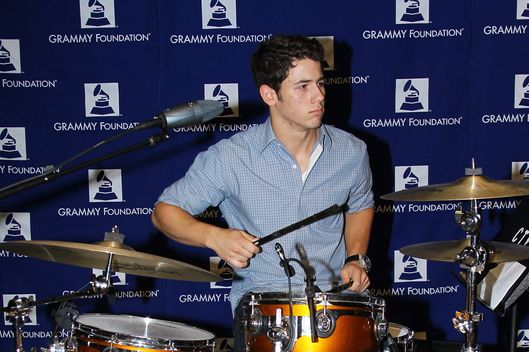 LOS ANGELES, CA - JULY 14:  Nick Jonas attends the 7th Annual GRAMMY Camp - guest professional day held at University of Southern California on July 14, 2011 in Los Angeles, California.  (Photo by Michael Tran/FilmMagic)