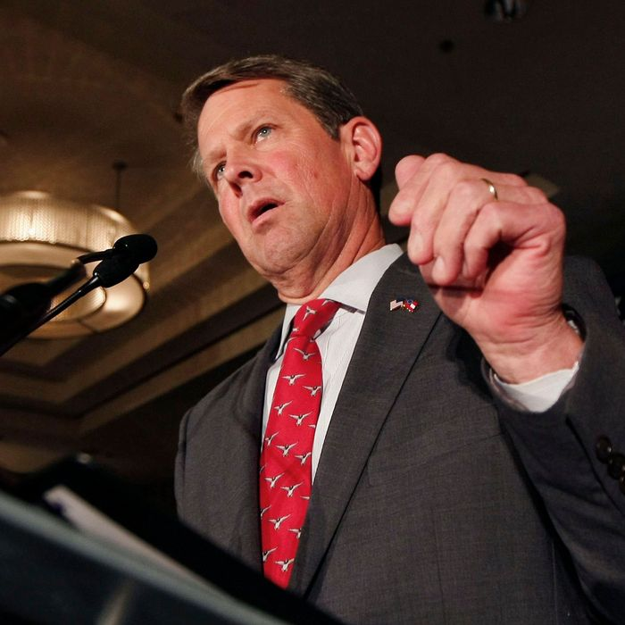 Brian Kemp, Georgia's secretary of State and Republican gubernatorial candidate.