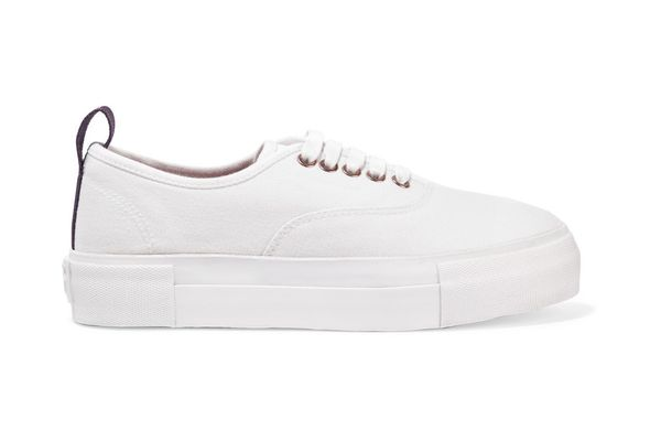 Eytys Cotton Canvas Sneakers