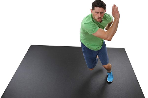 Square36 Large Exercise Mat, (8 feet x 6 feet)