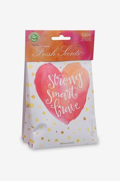 Fresh Scents 3-Pack Strong, Smart, Brave Scented Sachets