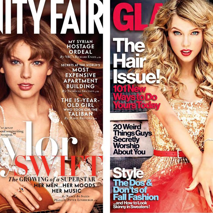 Taylor Swift's latest covers.