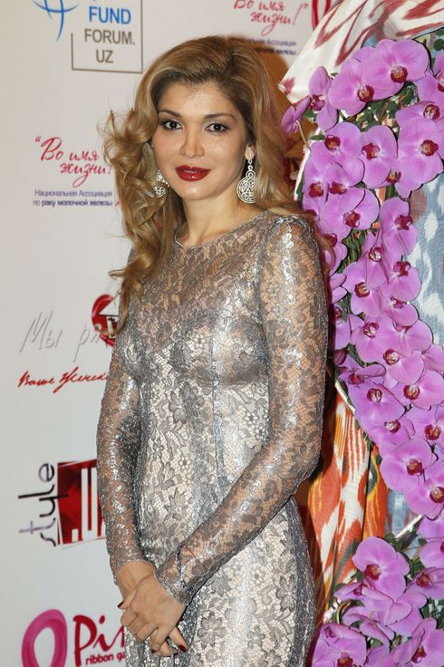 Dr. Gulnara Karimova, Chairwoman of the Board of Trustees, attends a charitable gala dinner in support of women living with breast cancer during Style.Uz Art Week 2012 on October 6, 2012 in Tashkent, Uzbekistan.