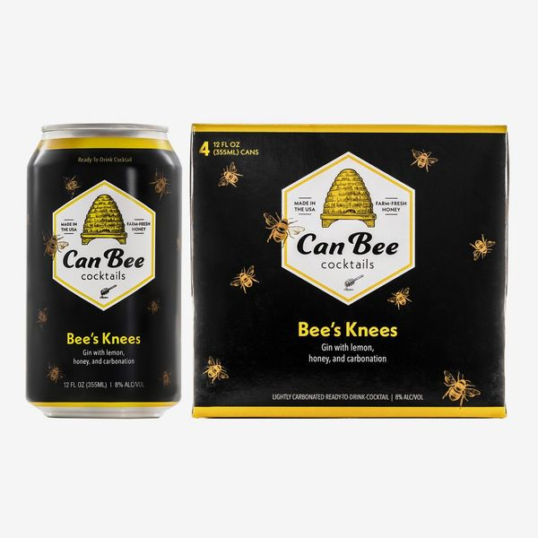 CanBee Cocktails Bee's Knees, 4-Pack