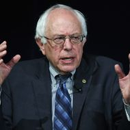 Bernie Sanders Addresses Presidential Candidate Forum On Immigration Held In Vegas