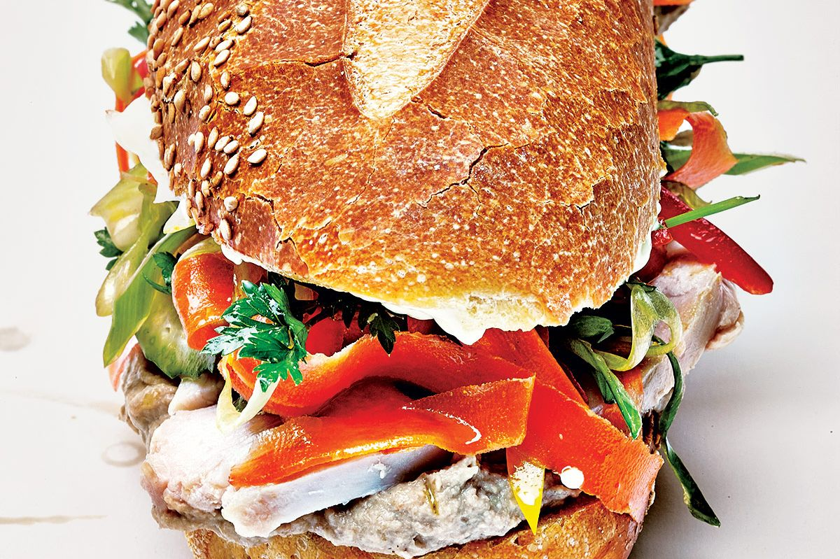 Court Street Grocers: Dirty Turkey sandwich.