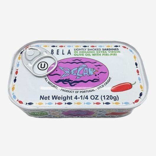 Bela Sardines Lightly Smoked Organic Cayenne Pepper