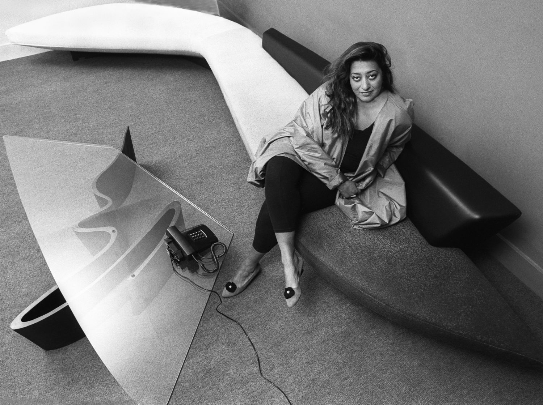 Young Zaha Hadid Portrait Www Imgkid Com The Image Kid