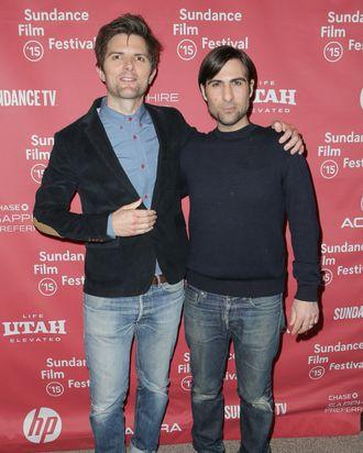 Adam Scott & Jason Schwartzman Go Full Frontal in