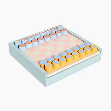 MoMA Two-in-One Chess and Checkers Set
