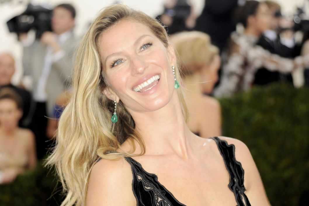 NEW YORK, NY - MAY 05:  Gisele Bundchen attends 'Charles James: Beyond Fashion' Costume Institute Gala at the Metropolitan Museum of Art on May 5, 2014 in New York City. (Photo by Ron Galella, Ltd./WireImage)