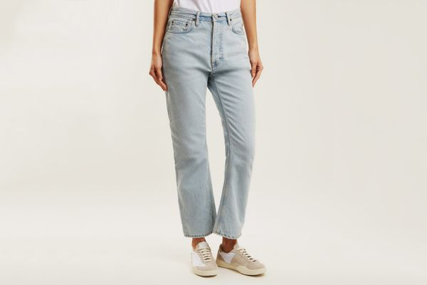 Acne Studios Long Straight-Leg Boyfriend Jeans