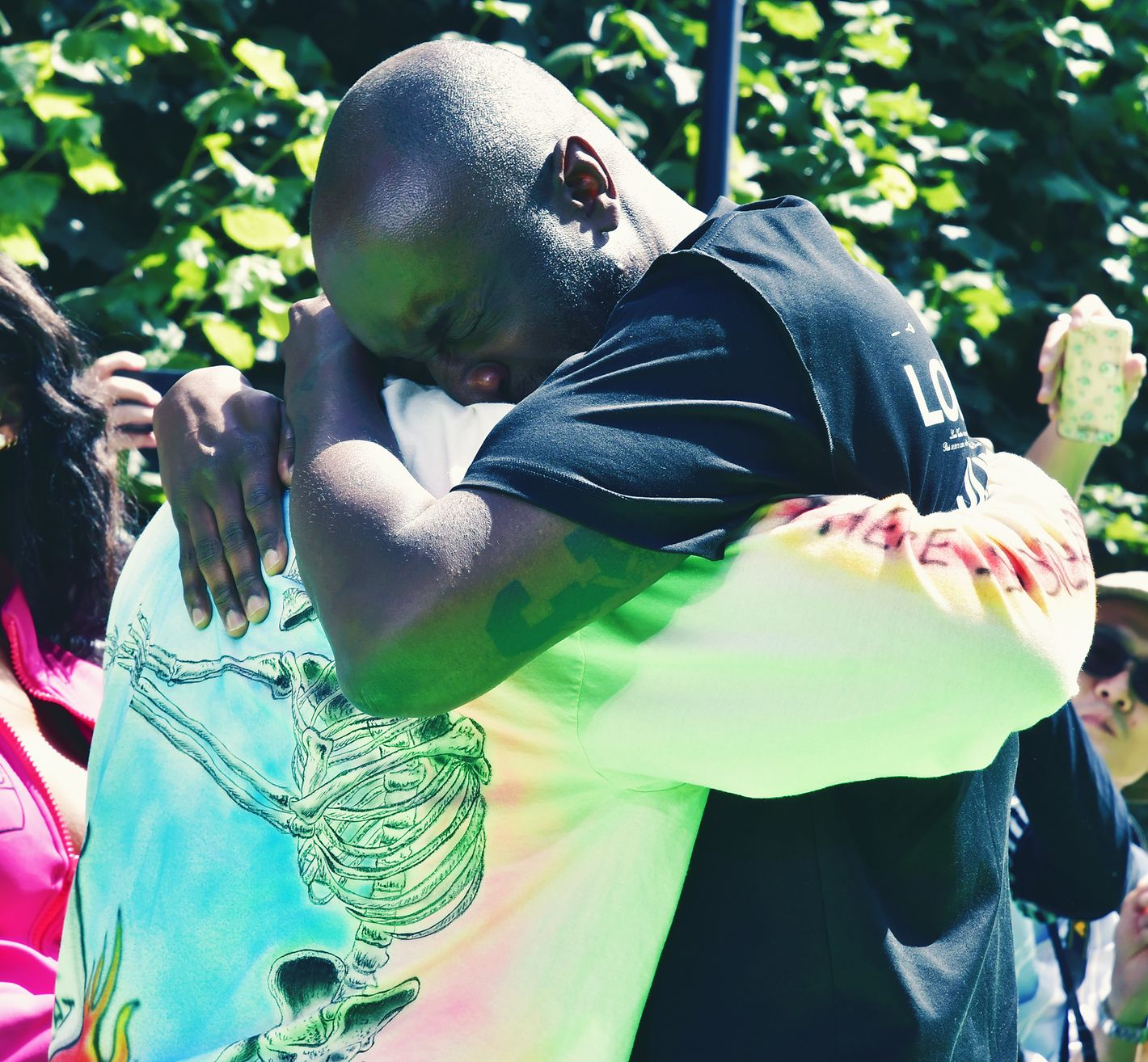 9f38ac2b Virgil Abloh and Kanye West's Hug Was a Great Fashion Moment