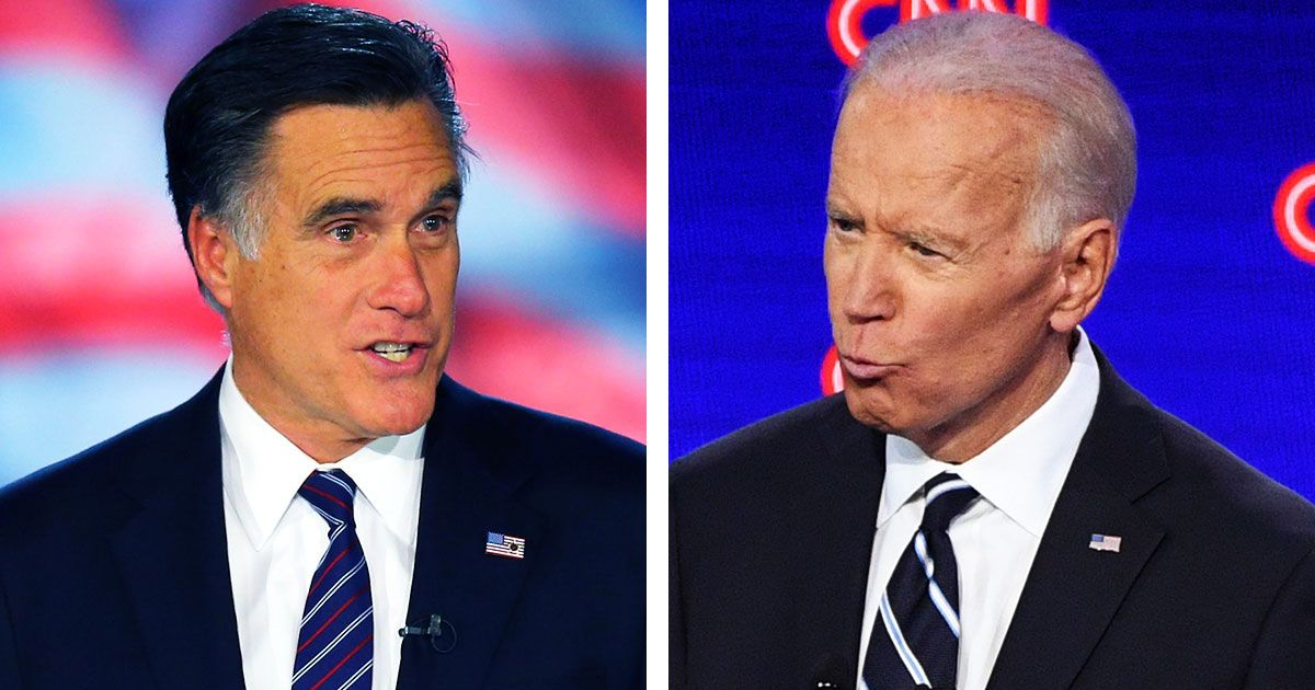 Is Joe Biden the Democrats' Version of Mitt Romney?