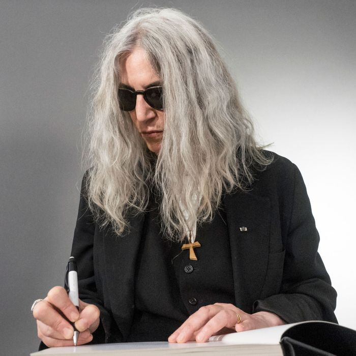 Patti Smith feels alive.