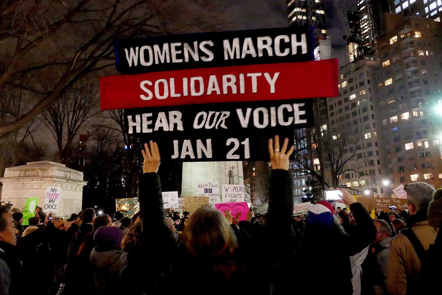 Women will continue to stand up for our rights after march new york daily news - Women Will Continue To Stand Up For Our Rights After March New York Daily News 19