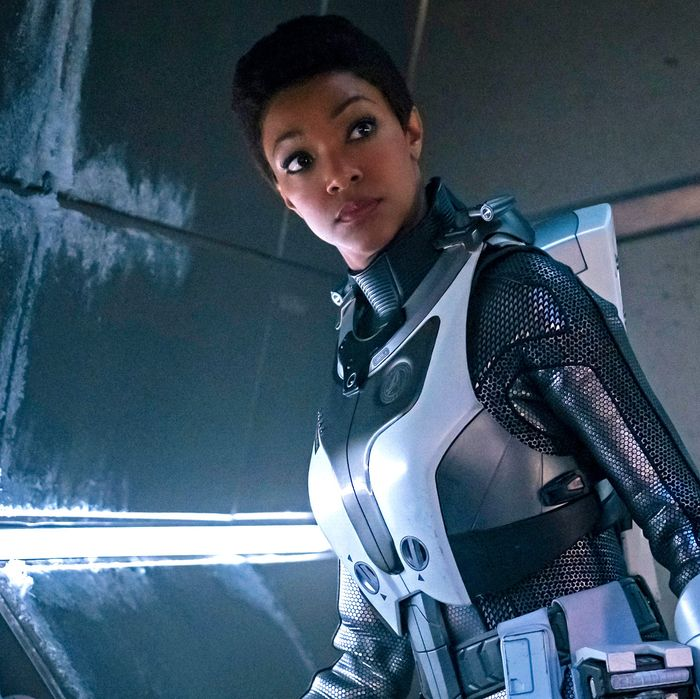 Sonequa Martin-Green in Star Trek: Discovery.