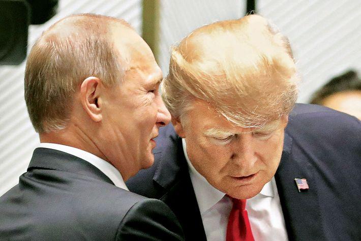 What If Trump Has Been a Russian Asset Since 1987?