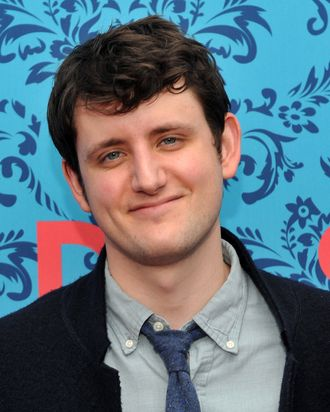 NEW YORK, NY - APRIL 04: Actor Zach Woods attends the HBO with The Cinema Society host the New York premiere of HBO's