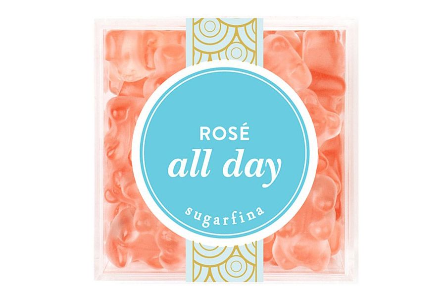 Sugarfina Rosé All Day Rosé Infused Gummy Bear Gift Box