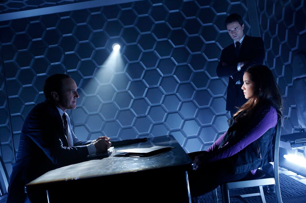 "MARVEL'S AGENTS OF S.H.I.E.L.D. - ""Pilot"" - Joss Whedon, the creative genius behind the feature film ""Marvel's The Avengers,"" one of the highest grossing films of all time, and of the iconic television series ""Buffy The Vampire Slayer,"" has co-created ""Marvel's Agents of S.H.I.E.L.D.,"" a dynamic, action-packed one-hour drama that brings back Agent Phil Coulson (Clark Gregg) to lead a team of highly skilled agents to investigate extra-normal and super human people and events worldwide. The series premieres TUESDAY, SEPTEMBER 24 (8:00-9:01 p.m., ET), on the ABC Television Network. In the premiere episode, ""Pilot,"" it's just after the battle of New York, and now that the existence of super heroes and aliens has become public knowledge, the world is trying to come to grips with this new reality. Agent Phil Coulson is back in action and has his eye on a mysterious group called The Rising Tide. In order to track this unseen, unknown enemy, he has assembled a small, highly select group of Agents from the worldwide law-enforcement organization known as S.H.I.E.L.D. (Strategic Homeland Intervention Enforcement and Logistics Division). The group's first assignment together as a team finds them trying to track down an ordinary man who has gained extraordinary powers. Powers that could have devastating consequences. (ABC/Justin Lubin)CLARK GREGG, BRETT DALTON, CHLOE BENNET"