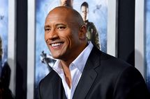 "Actor Dwayne Johnson arrives at the Premiere of Paramount Pictures' ""G.I. Joe: Retaliation"" at TCL Chinese Theatre on March 28, 2013 in Hollywood, California."