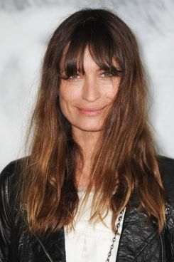 Caroline de Maigret attends the Chanel Haute-Couture Show as part of Paris Fashion Week Fall / Winter 2012/13 at Grand Palais.