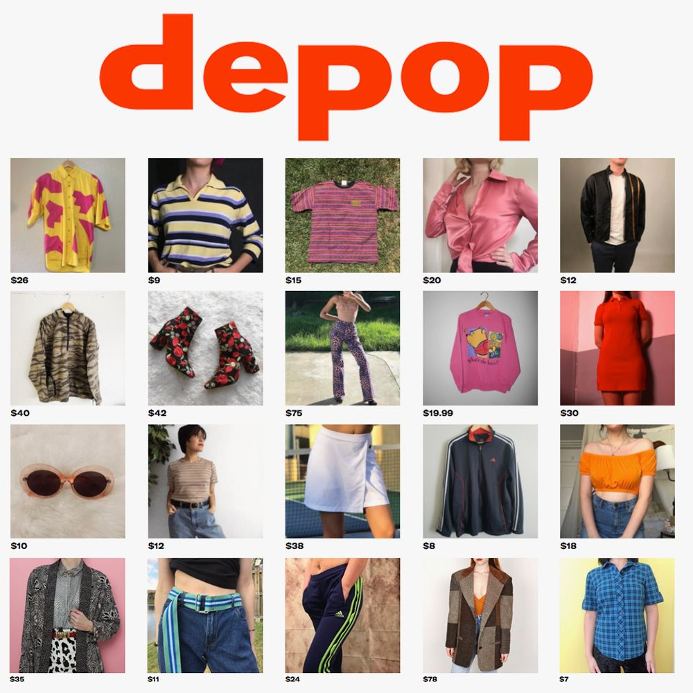 4cacbddb8ef Re-commerce Apps and Resale  Depop