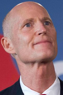 Governor Scott is probably pretty pleased with his comeback.