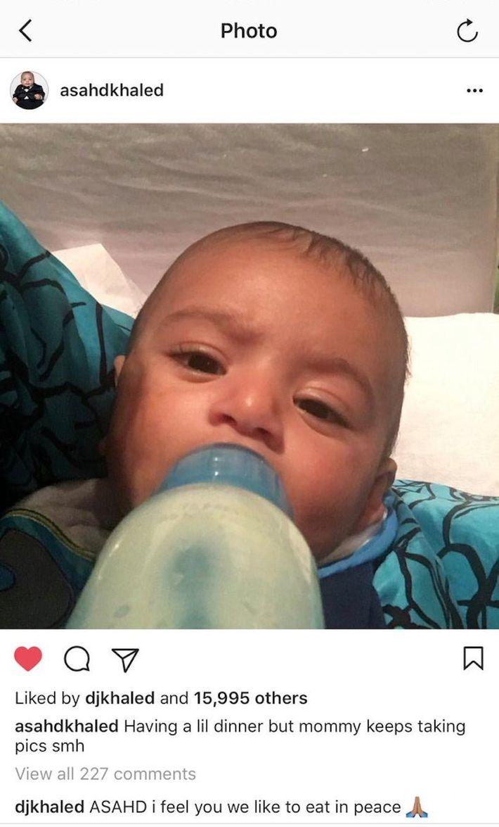 DJ Khaled's Love Of His Son, Asahd, Is A Meme Now