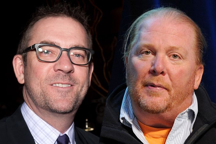Allen has won two Beard awards, while Batali has been honored with several.