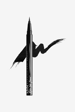 NYX Professional Makeup Epic Ink Eye Liner, Felt Tip Liner Pen, Waterproof, Vegan Formula, Black