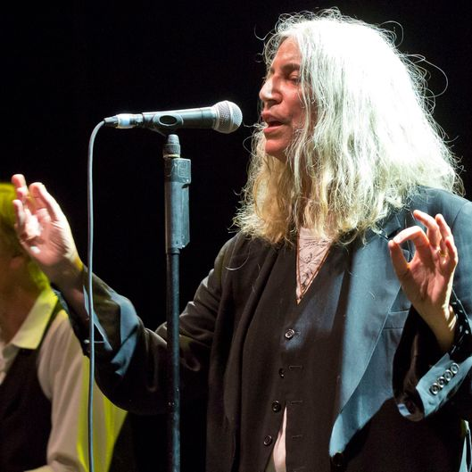 Patti Smith Perform In Berlin