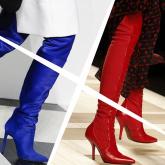 a8a54e2f6c2 Over-the-knee boots used to be intimidatingly expensive. It takes a lot of  fabric to make a pair of shoes that covers most of the leg