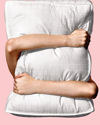 Carpenter Company's Beyond Down Side Sleeper pillow.
