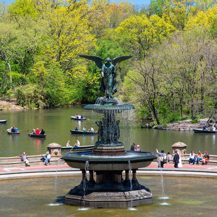 Centeral Park: Central Park Doesn't Have Any Statues Of Actual Historical