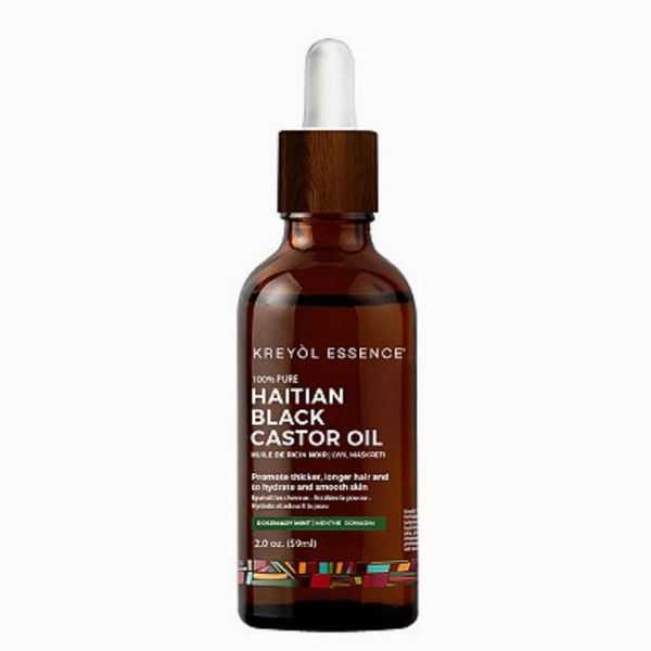 Kreyòl Essence Haitian Black Castor Oil Rosemary Mint